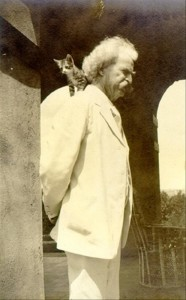 Mark-Twain-with-Cat-on-His-Shoulder-186x300