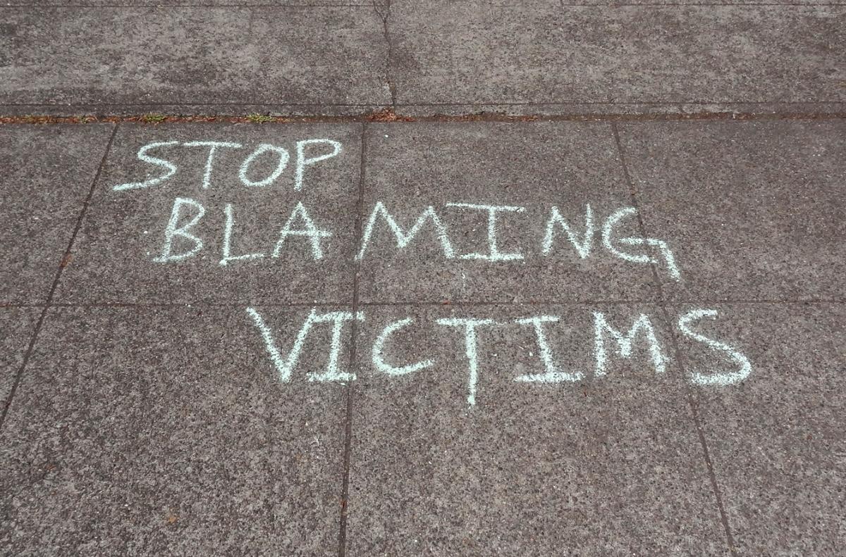 Victim Blaming: die Opfer von Vergewaltiungen sind nie selbst Schuld
